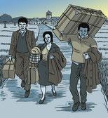 La tradicional emigración extremeña vuelve a hacer las maletas...