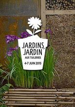 Salon Jardins Jardin 2015 aux Tuileries à Paris - Juin 2015