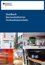 Deckblatt der Handbuches Barrierefreiheit im Fernbuslinienverkehr