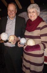 Gewinner des Jurypreises und Gewinnerin des Publikumspreises: Martin Möllerkies und Elisabeth Kuhs