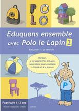Fascicules de stimulation du langage oral Eduquons ensemble avec Polo le Lapin
