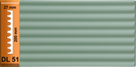 DL 51 La partie central du pilastre