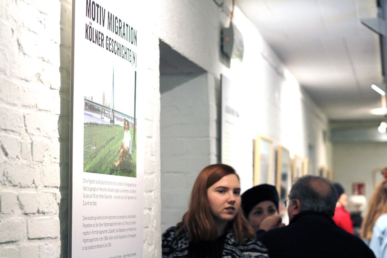 Eröffnung des Mülheimer Heimatministeriums im Kulturbunker Mülheim mit der Ausstellung »Motiv Migration« des DOMiD e. V. am 16. März 2019. Fotos: Eva Rusch