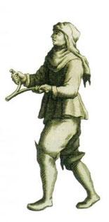 Rutengänger im Mittelalter