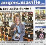 Cave Beaurepaire Angers, Angers Ma Ville N°29 - du 28 janvier au 3 février 2015