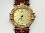 OMEGA(オメガ )コンステレーション  K18ダイヤベゼル クォーツ時計