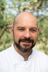 """Alessandro Lestini, Executive Chef """"La Locanda del Cardinale"""" di Assisi. Diplomato a.s. 1999/00"""