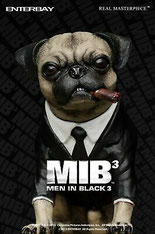 affiche du film men in black 3 cinema chien carlin