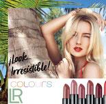 Les points forts de l'offre LR : LR colours woman. Traitement pour les lèvres qui apporte de la brillance et de la couleur. De rouge séduisant à rose subtil, en passant par des couleurs terre naturelle. Des lèvres parfaites grâce à la vitamine E.