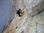 Kletterspass in den Dolomiten