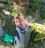 Tyrolean bathing fun
