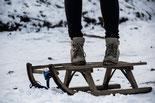 Andare in slitta