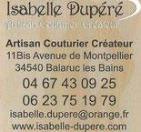 Isabelle dupéré couturière  Balaruc les bains