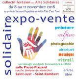 Expo solidaire du Collectif forézien Arts Solidaires