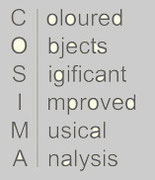 coloured objects significant improved musical analysis, COSIMA, mfk-media, michael f. kienzl, kommunikationstheorie