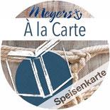 Meyers Gasthaus Maschen, Seevetal, à la Carte, Speisenkarte