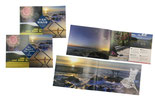 【パンフレット×観光協会】大洗の名所を写真と文でご紹介。海外からの観光客対象に中国語と英語の2種を制作。翻訳も行いました。〔H148×W420mm/ハイマッキンレーマットポスト111kg〕