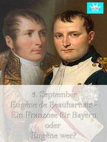 bsonders BAYERISCH Artikel - Ein Franzose für Bayern, Eugene de Beauharnais