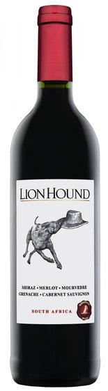 The Lion Hound Red – 2015  Der Lion Hound Red 2015 ist eine Cuvée aus Shiraz, Grenache, Merlot, Mourvèdre, Cabernet Sauvignon und Viognier. In der Nase dunkle Kirschen, Pflaumen und etwas Lakritz. Am Gaumen wunderbare Fruchtaromen und ein intensiver Abgan