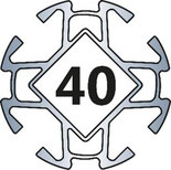 Aluprofil 40