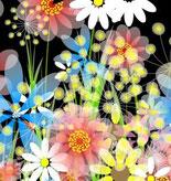 bloemen toveren : muissleep (+klik)