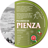 PIENZA maremma sheep cheese dairy pecorino caseificio tuscany tuscan spadi follonica label italian origin milk italy matured aged siena sienese senese