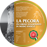 maremma sheep sheep's cheese dairy pecorino caseificio tuscany tuscan spadi follonica label italian origin milk italy matured aged antique la pecora