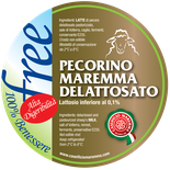 pecorino sheep sheep's lactose free cheese dairy caseificio tuscany tuscan spadi follonica label italian origin milk italy fresh
