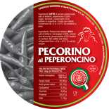 pecorino maremma new taste sheep sheep's cheese dairy caseificio tuscany tuscan spadi follonica label italian origin milk italy matured aged flavored flavor aromatic al peperoncino hot red pepper chili