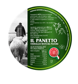 mixed cheese from cow's and sheep's milk 30 days of ripening aged on wooden planks label tuscany italy maremma