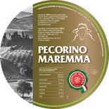 maremma sheep sheep's cheese dairy pecorino caseificio tuscany tuscan spadi follonica label italian origin milk italy fresh classic