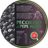 pecorino maremma new taste sheep sheep's cheese dairy caseificio tuscany tuscan spadi follonica label italian origin milk italy matured aged flavored flavor aromatic black pepper al pepe nero
