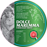 maremma mixed mix cow cow's sheep sheep's cheese dairy caseificio tuscany tuscan spadi follonica label italian origin milk italy fresh dolce formaggio misto