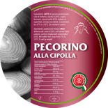 pecorino maremma new taste sheep sheep's cheese dairy caseificio tuscany tuscan spadi follonica label italian origin milk italy matured aged flavored flavor alla cipolla onion aromatic