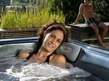 aussenwhirlpool massage