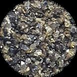 Schlackekorn, Sand, Schlacke, Schmelzkammerschlacke, Aluminiumsilikat