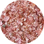 Granatsand, roter Sand, indischer Sand, Granulat