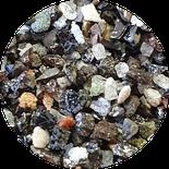 Mischkorundkorn, Mischkorund, Sand, Aluminiumoxid