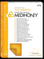 Medihoney antibakterieller Tüllverband Produktfoto