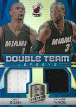 WADE  BOSH / Double Team - No. DT-MIA  (#d 27/49)
