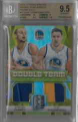 STEPHEN CURRY & KLAY THOMPSON / Double Team - No. DT-GSW  (#d 8/10)