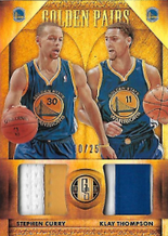 STEPHEN CURRY & KLAY THOMPSON / Golden Pairs - No. 7  (#d 10/25)