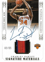 CHARLES OAKLEY / Signature Metrials - No. SM-CO  (#d 2/25)