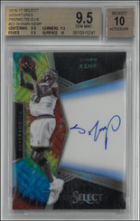 SHAWN KEMP / Signatures TieDye - No. 23  (#d 9/25)