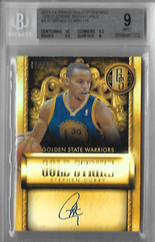 STEPHEN CURRY / Gold Strike Signatures - No. 4  (#d 47/75)