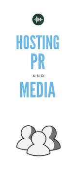 Hosting, Pr und Marketing sind in Bezug auf Podcasts sehr wichtig.
