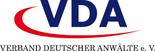 Logo des Verband deutscher Anwälte e.V.