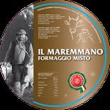 maremma misto mucca vacca bovino pecora formaggio caseificio toscano toscana spadi follonica etichetta italiano origine latte italia maremmano fresco