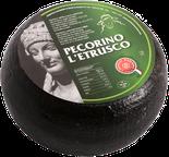maremma pecora formaggio pecorino caseificio toscano toscana spadi follonica forma intera crosta nera nero italiano origine latte italia classico semistagionato nero all'esterno