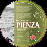 PIENZA maremma pecora formaggio pecorino caseificio toscano toscana spadi follonica etichetta italiano origine latte italia senese siena